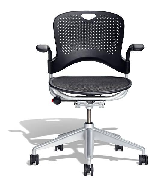 Black Office Chair:スマホ壁紙(壁紙.com)