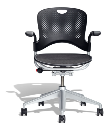 Single Object「Black Office Chair」:スマホ壁紙(12)