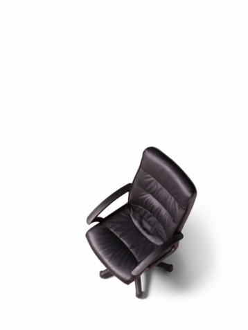 Office Chair「Black office chair, elevated view, studio shot」:スマホ壁紙(19)