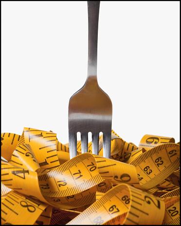 Fat - Nutrient「Fork in measuring tape」:スマホ壁紙(9)