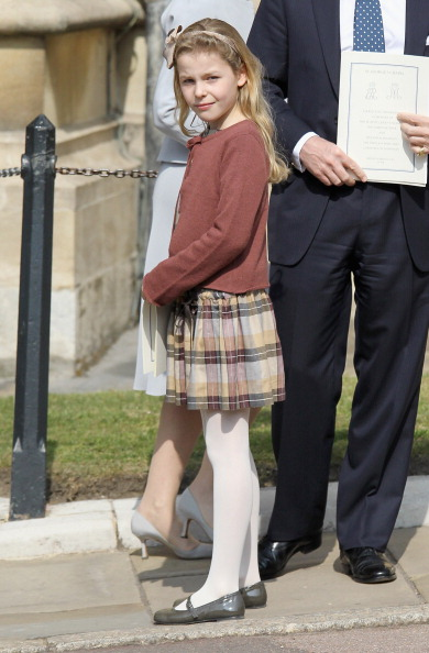Margarita Armstrong-Jones「The Royal Family Attend A Thanksgiving Service For The Queen Mother and Princess Margaret At Windsor」:写真・画像(9)[壁紙.com]