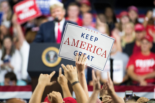 MAGA「Donald Trump Holds MAGA Rally In Johnson City, Tennesee」:写真・画像(5)[壁紙.com]