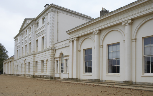 17th Century「Europe, Great Britain, England, London, Hampstead, Kenwood House, extension housing the library in the foreground」:スマホ壁紙(18)