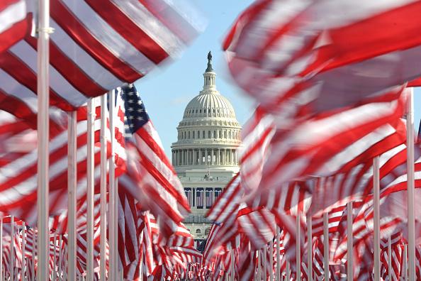 The Mall - Washington DC「Washington DC Prepares For Inauguration Of Joe Biden As 46th President」:写真・画像(18)[壁紙.com]