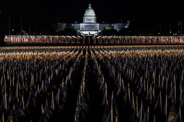 The Mall - Washington DC「Washington DC Prepares For Inauguration Of Joe Biden As 46th President」:写真・画像(17)[壁紙.com]