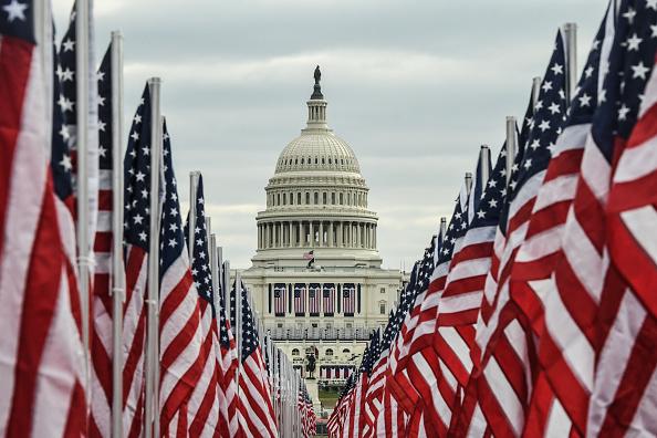 The Mall - Washington DC「Washington DC Prepares For Inauguration Of Joe Biden As 46th President」:写真・画像(14)[壁紙.com]