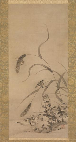 Chrysanthemum「Millet And Sparrows」:写真・画像(14)[壁紙.com]