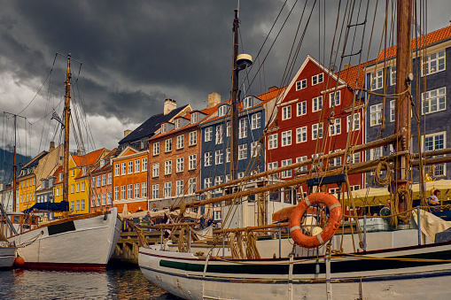 Danish Culture「Nyhavn harbor in Copenhagen」:スマホ壁紙(15)