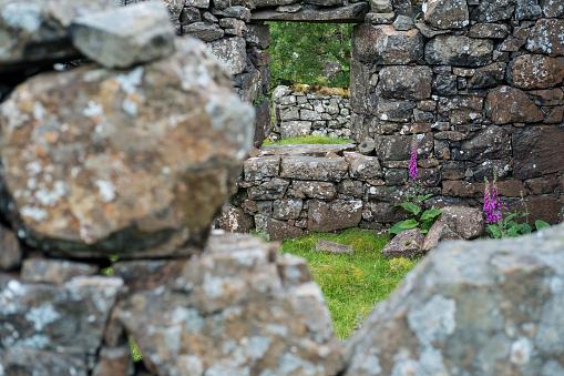 Focus On Background「The ruined cottages of Crackaig, the Treshnish peninsula, Isle of Mull, Scotland」:スマホ壁紙(17)