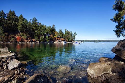 Vancouver - Canada「Beach of Southey Point , Salt Spring Island, BC , Canada」:スマホ壁紙(16)