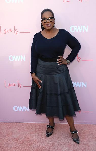 "Oprah Winfrey「Premiere Of OWN's ""Love Is_"" - Arrivals」:写真・画像(18)[壁紙.com]"