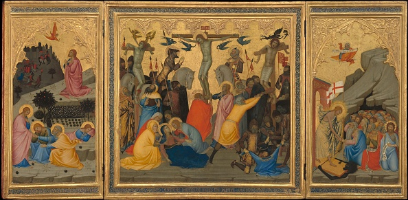 Gold Leaf「Scenes From The Passion Of Christ: The Agony In The Garden」:写真・画像(19)[壁紙.com]