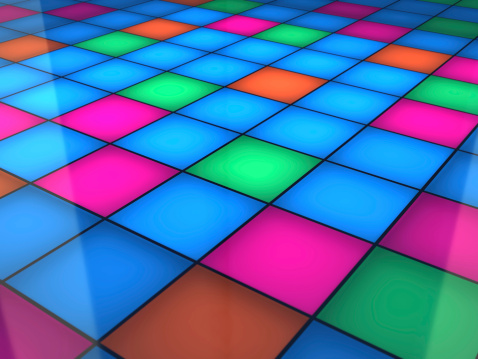Tile「Dance Floor」:スマホ壁紙(2)