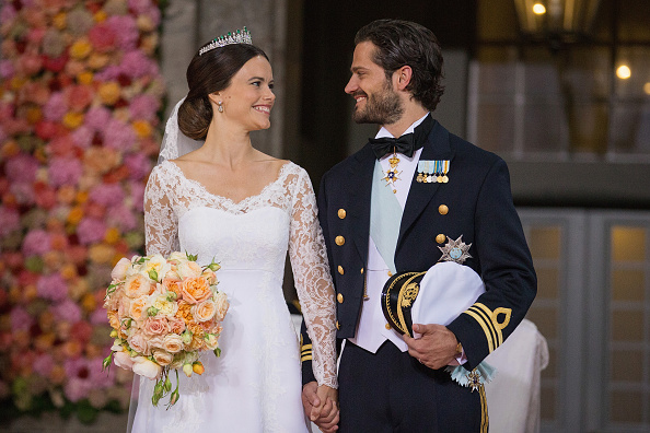 Bridal「Ceremony And Arrivals:  Wedding Of Prince Carl Philip Of Sweden And Sofia Hellqvist」:写真・画像(8)[壁紙.com]