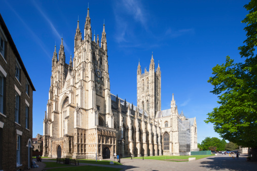 Cathedral「Caterbury Cathedral, Canterbury, Kent, England」:スマホ壁紙(4)