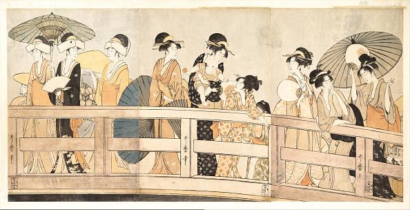 江戸時代「On top and beneath Ryogoku Bridge, c」:写真・画像(17)[壁紙.com]