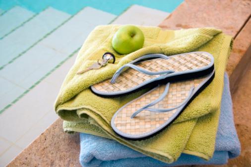 Flip-Flop「Flips flops by swimming pool」:スマホ壁紙(7)