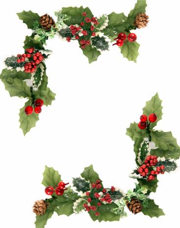 Frame - Border「Christmas ornament」:スマホ壁紙(13)