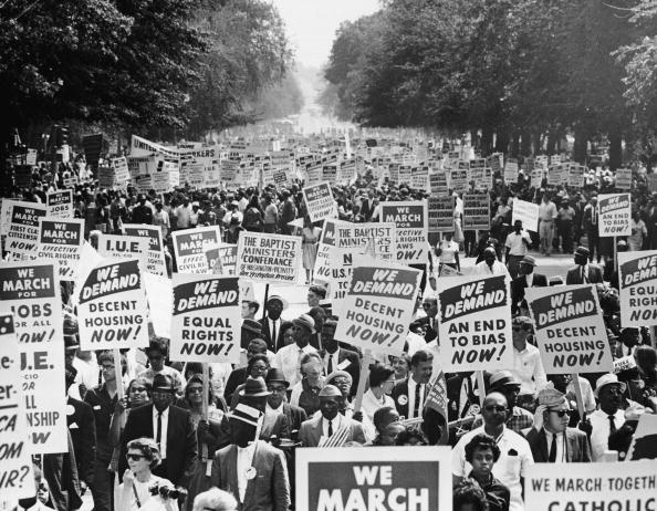 Human Rights「The March On Washington For Jobs And Freedom」:写真・画像(0)[壁紙.com]