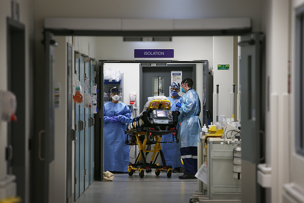 Infectious Disease「St Vincent's Hospital Prepares For Influx Of Patients As Australia Begins To Feel After Effects Of COVID-19 Lockdown」:写真・画像(15)[壁紙.com]