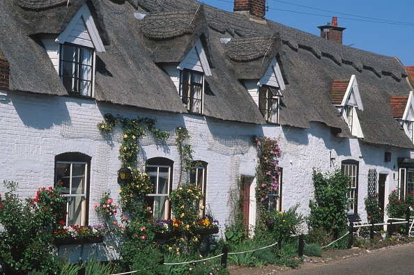 Thatched Roof「Quaint Cottages」:写真・画像(7)[壁紙.com]
