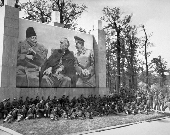 Franklin Roosevelt「Big Three Poster」:写真・画像(18)[壁紙.com]