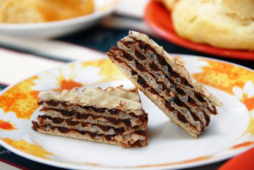 Waffled「Sweet waffle cakes」:スマホ壁紙(19)