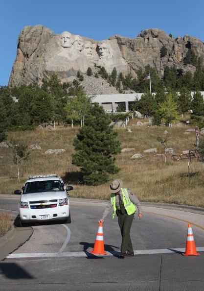 Keystone「Mt. Rushmore Closed Due To Government Shutdown」:写真・画像(1)[壁紙.com]
