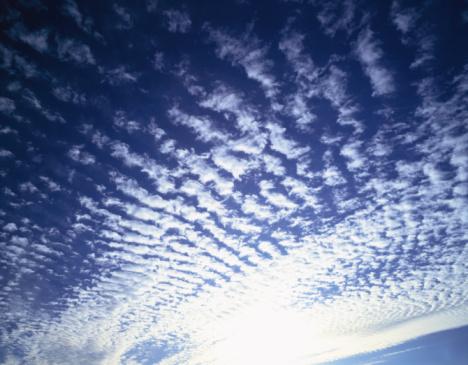 巻積雲「Sardine clouds. Kushiro, Hokkaido Prefecture, Japan」:スマホ壁紙(2)