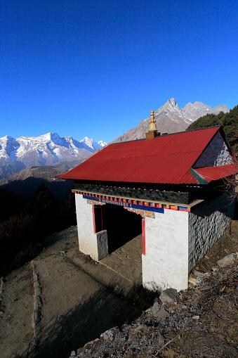 Khumbu「Gate to Tengboche village and Konge」:スマホ壁紙(5)