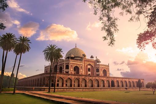 Arch - Architectural Feature「Humayun's Tomb, Delhi, India - CNGLTRV1109」:スマホ壁紙(4)