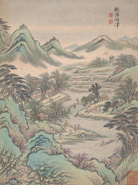 17th Century「Eight Landscapes」:写真・画像(4)[壁紙.com]
