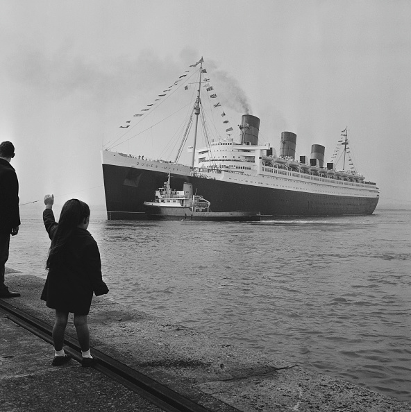 Ship「Farewell Queen Mary」:写真・画像(11)[壁紙.com]