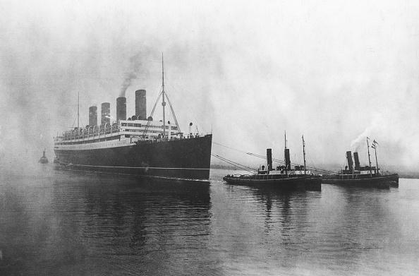 乗客輸送船「RMS Aquitania」:写真・画像(3)[壁紙.com]