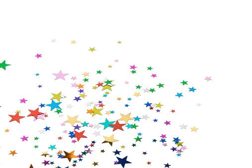ラメグリッター「星のコンフェティ」:スマホ壁紙(19)