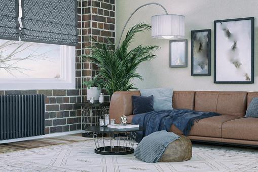 Ranch House「Cozy Domestic Living room」:スマホ壁紙(18)