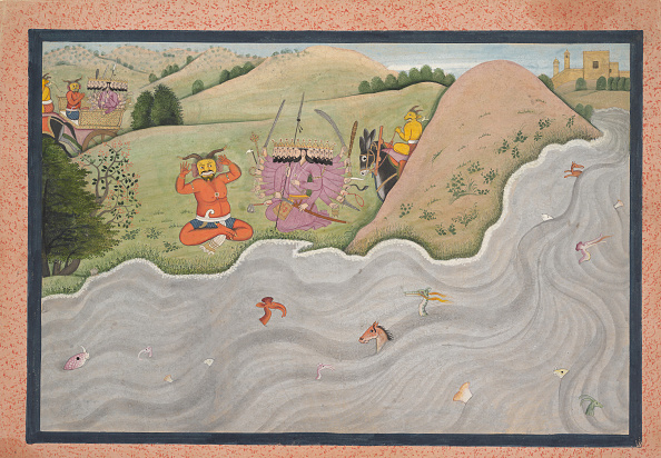 Water's Edge「The Demon Marichi Tries To Dissuade Ravana... From A Dispersed Ramayana Series」:写真・画像(16)[壁紙.com]