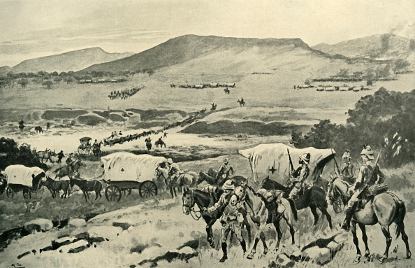 Mammal「Generals French And Hutton Crossing The Vaal Into Transvaal Territory」:写真・画像(16)[壁紙.com]