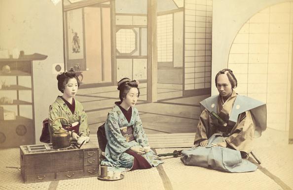 茶道「Samurai Visitor」:写真・画像(1)[壁紙.com]