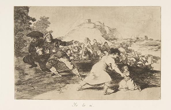 Horror「Plate 44 From The Disasters Of War (Los Desastres De La Guerra): I Saw 1」:写真・画像(6)[壁紙.com]