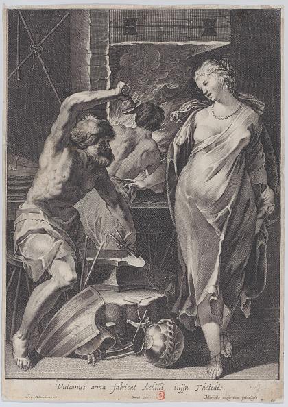 God「Vulcan Forging The Armor Of Achilles」:写真・画像(12)[壁紙.com]