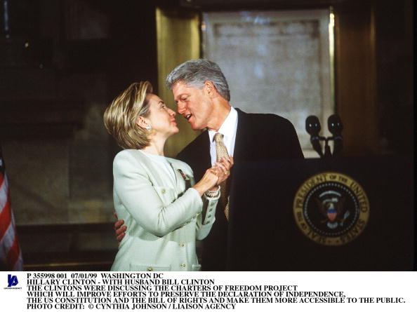 Effort「Hillary Clinton With Husband Bill Clinton Photo Credit: Cynthi」:写真・画像(3)[壁紙.com]
