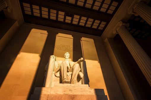 Male Likeness「USA, Washington DC, Lincoln Memorial at sunrise」:スマホ壁紙(19)