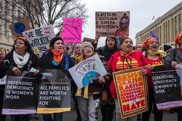 Washington DC「March For Women's Rights」:写真・画像(5)[壁紙.com]