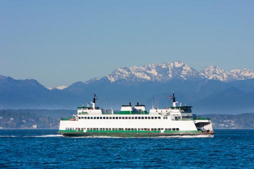 Cruise - Vacation「Washington State Car Ferry on Puget Sound」:スマホ壁紙(5)