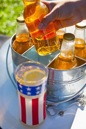 Lemon Soda「July 4th, Beer and Lemonade」:スマホ壁紙(1)