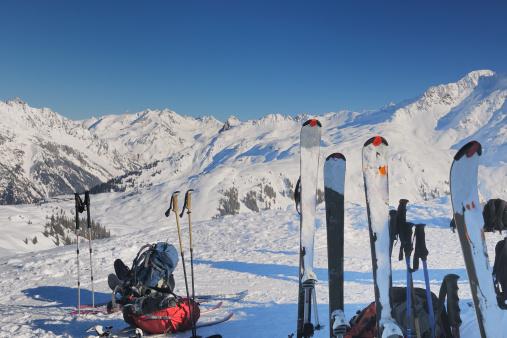 Central Eastern Alps「Skiing region Sonnenkopf」:スマホ壁紙(1)