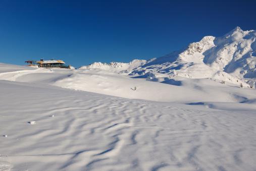 スキー「Skiing region Sonnenkopf」:スマホ壁紙(9)