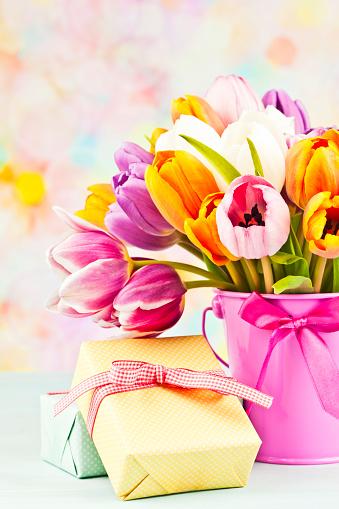 母の日「フラワー&ギフト、母の日や誕生日」:スマホ壁紙(13)