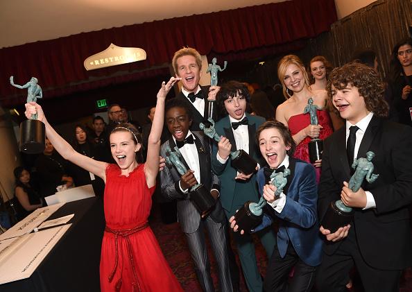 Noah Schnapp「The 23rd Annual Screen Actors Guild Awards - Media Complex」:写真・画像(6)[壁紙.com]